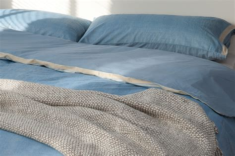 Blue Bed Covers Blue Cotton Duvet Cover Bed Company