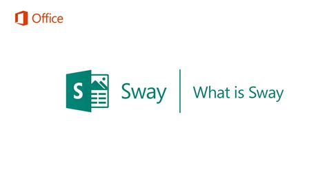 The Sway what is sway microsoft sway tutorials