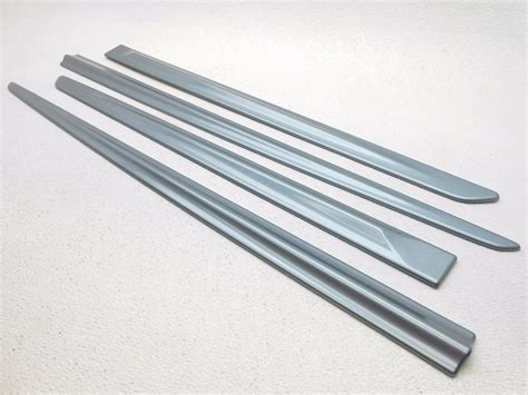 Exterior Door Trim Kit New Oem Honda Fit Exterior Side Door Moulding Trim Kit 2009 2012 Celestial Blue Ebay