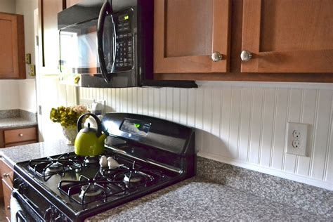 how to add backsplash beadboard backsplash liz marie blog