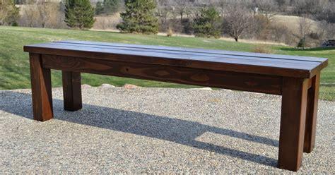 indoor outdoor benches kruse s workshop simple indoor outdoor rustic bench plan