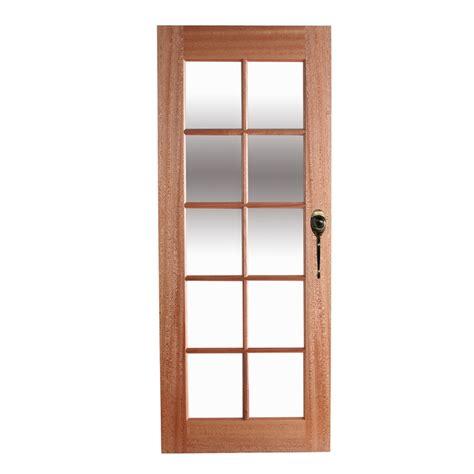 doors sydney bunnings hume doors timber 2040 x 820 x 40mm clear glass 10 lite