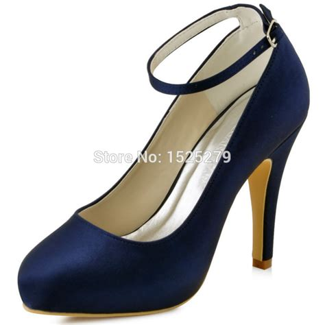 Heels Ip 11 shoes ep11049 ip navy blue teal bridesmaids