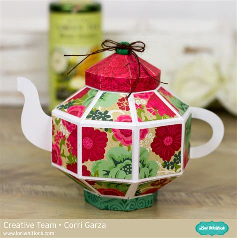 How To Make A Paper Teapot - octagon teapot tutorial by corri 187 lori whitlock