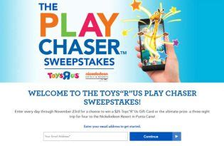 Play Sweepstakes - the toys quot r quot us play chaser sweepstakes sweepstakes pit