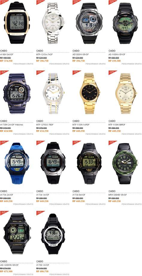 Harga Jam Tangan Merek Casio harga jam tangan pria merek casio harga mulai 300 ribuan