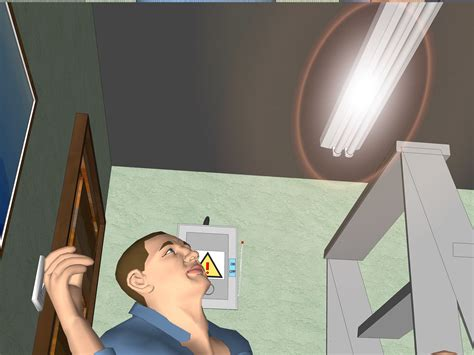 How To Change Fluorescent Light by How To Replace Fluorescent Lighting 14 Steps With Pictures