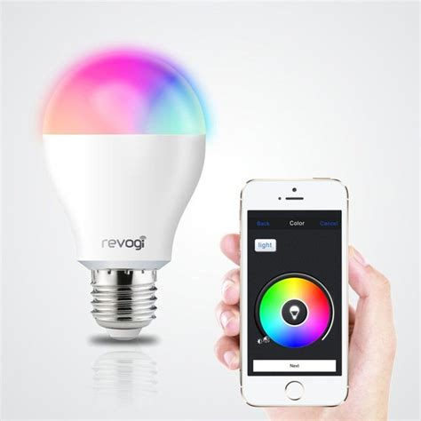 smart led light bulbs satechi revogi smart led bulb 187 review