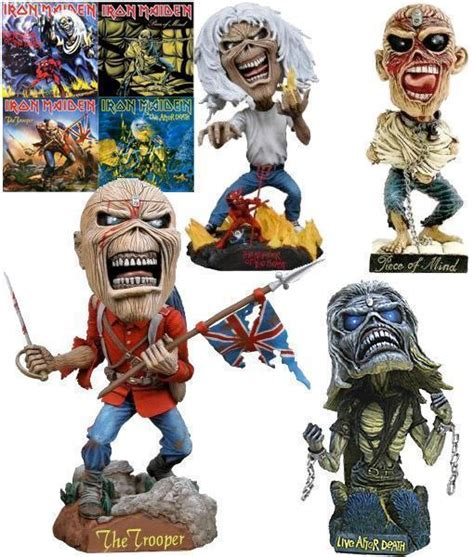 Iron Booblehead iron maiden bobble heads 4 vers 245 es do eddie number of