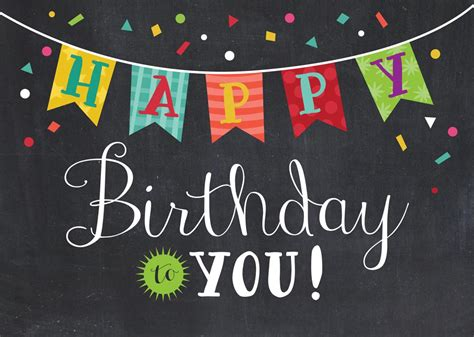 Happy Birthday Banner Card Template by Happy Birthday Banner Happy Birthday Banners Happy