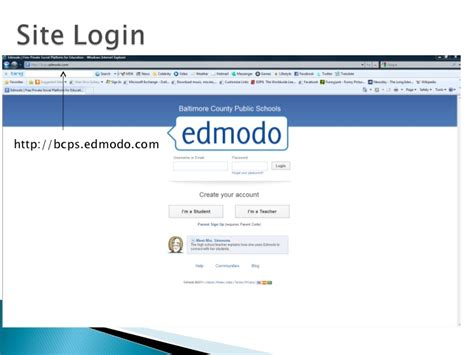 edmodo bcps introduction to edmodo