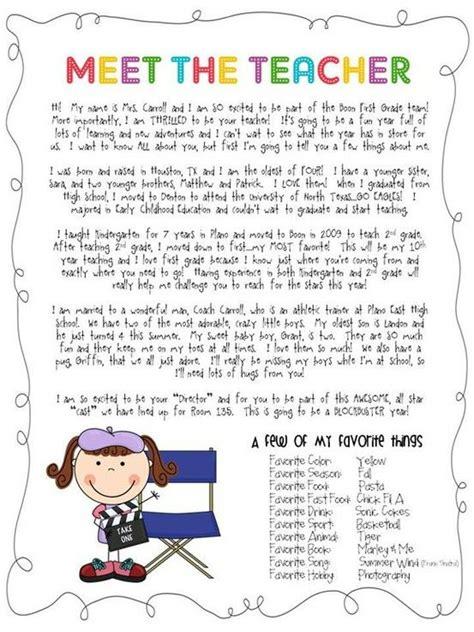 Introduction Letter Preschool 1000 Ideas About Welcome Letters On Kindergarten Welcome Letter Preschool