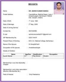 accountant biodata format doc www mittnastaliv tk meganwest co - Biodata Format For Job Pdf