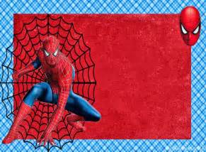 spiderman free printable invitations cards or photo
