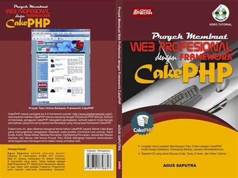 membuat website katalog proyek membuat web profesional dengan cakephp