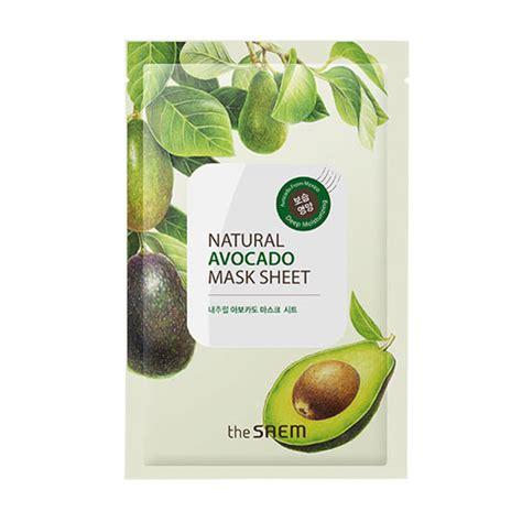 Sale Masker Jerawat Kirana Mask Organic the saem avocado mask sheet the saem mask sheets