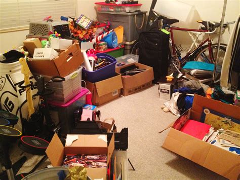 Junk Room 3 tips for cleaning out your college the green way