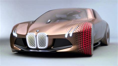 future cars bmw bmw reveals the car of the future vision 100