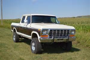 1978 Ford Crew Cab 1978 Ford F250 Crew Cab For Sale Photos Technical