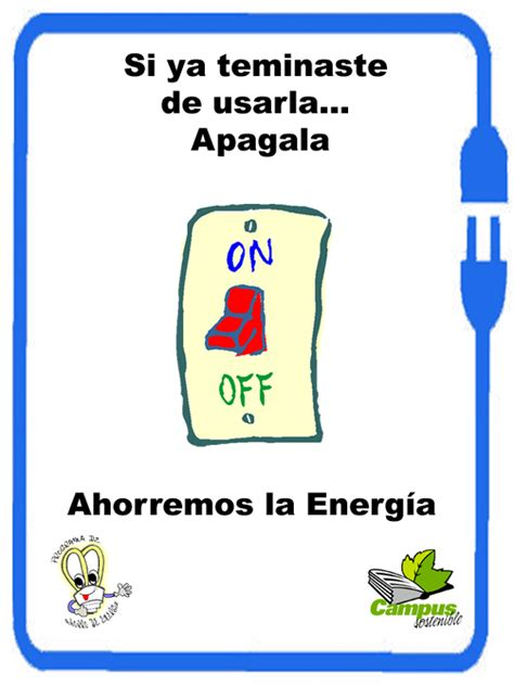afiches alusivos al ahorro de energia ahorro electrico