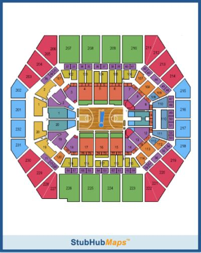 bankers fieldhouse seating chart with rows bankers fieldhouse seating chart pictures