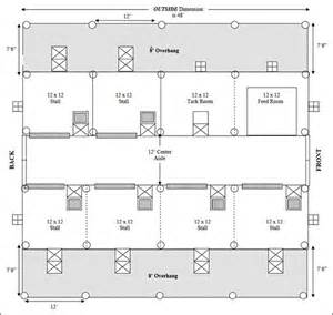 Simple Floor Plan Software Easy Horse Barn Floor Plan Design Software Cad Pro