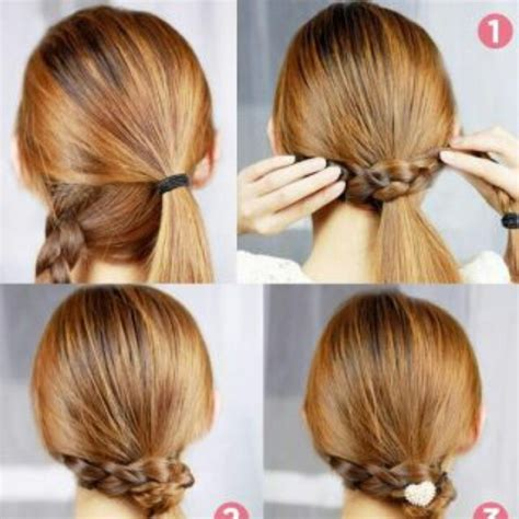 easy hairstyles in a ponytail cute n easy ponytail do my hair pinterest
