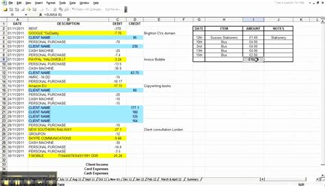 excel expenses template uk 10 excel expenses template uk exceltemplates