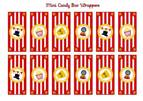 printable circus tickets free circus birthday party printables from printabelle