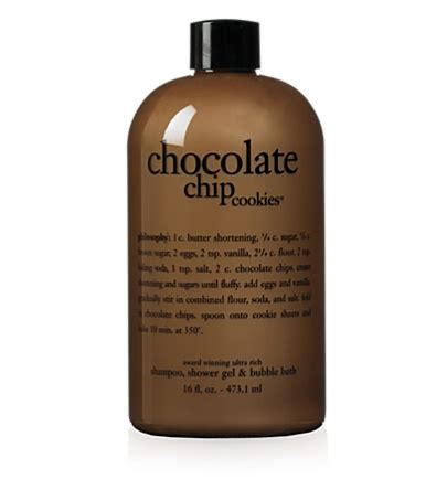 Confessions Of A Philosophy Bath Product by Philosophy Chocolate Chip Cookies Shoo Shower Geo