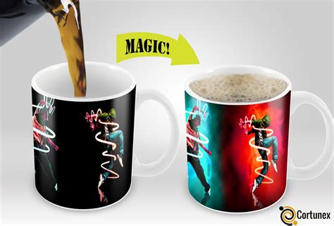 great coffee mugs cortunex magic mugs amazing new heat sensitive color