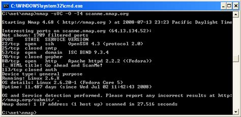 nmap tutorial commands windows nmap network scanning