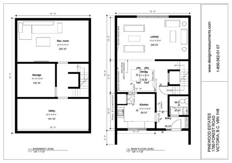 bc floor plans groupe denux pinewood estate townhouses