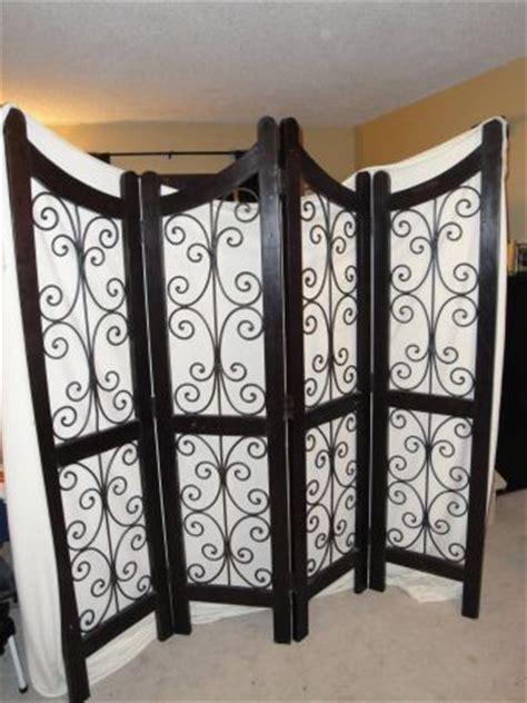 iron room divider wrought iron room divider screen and divider screen on