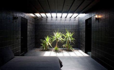 Black Interior House by What Happens When A Rocker Designs A Desert Home