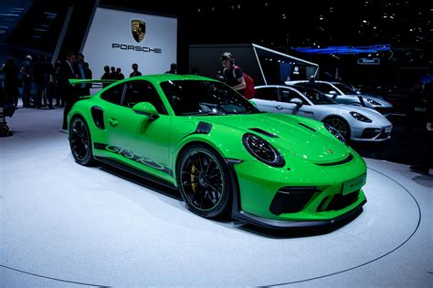 Porsche At by Porsche At The Geneva Motor Show 2018 Gtspirit