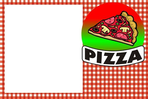 Dress Fatia 003 pizza free printable invitations oh my