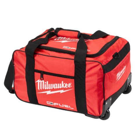 milwaukee m18 fuel wheeled bag contractors bag 4933459429