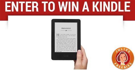 win a kindle up to enter to win an kindle julie s freebies