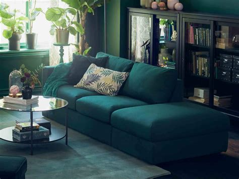 ikea dark blue sofa ikea green sofa fabric couches sofas ikea thesofa