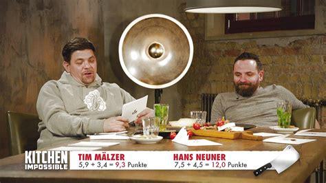 Kitchen Impossible 2017 Sendetermine Kitchen Impossible 2017 Hans Neuner Besiegt Tim M 228 Lzer Im