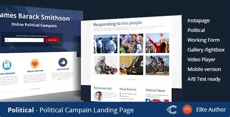 7 Instapage One Page Templates Free Website Themes Free Instapage Templates