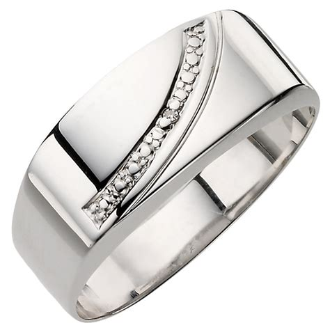 9ct white gold ring h samuel