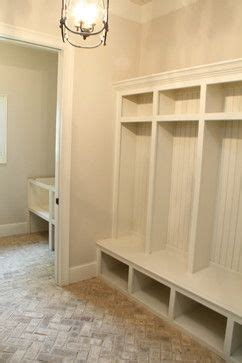 costly to add 2 more floors to a building brick herringbone floor in mudroom design inspiration