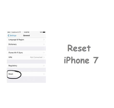 online reset iphone 5 how to reset iphone 7 with simple steps techieswag