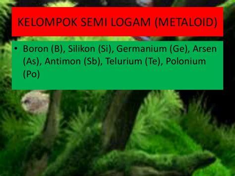 Novel Arsen Dan Fluorine 20 logam dan non logam