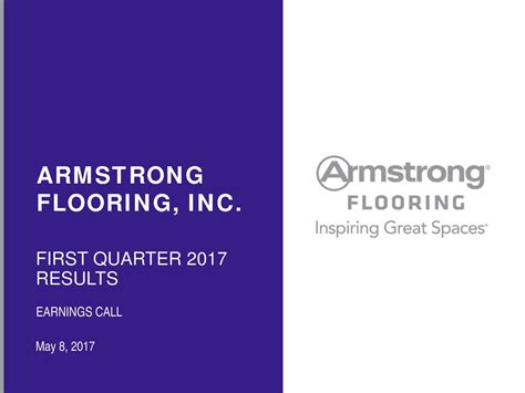 armstrong flooring inc 2017 q1 results earnings call slides armstrong flooring inc