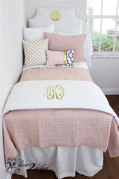 blush pink bedding blush pink white a pop of black designer apartment