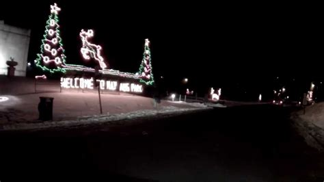 nay aug park scranton pa christmas lights 2013 youtube