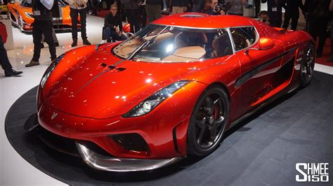 koenigsegg geneva koenigsegg regera one of one and agera ml geneva 2016